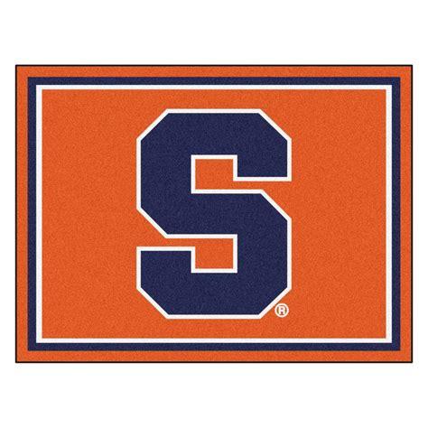 Area Rugs Syracuse Ny Fanmats Ncaa Syracuse Orange 8 Ft X 10 Ft Indoor Area Rug 17540 The Home Depot