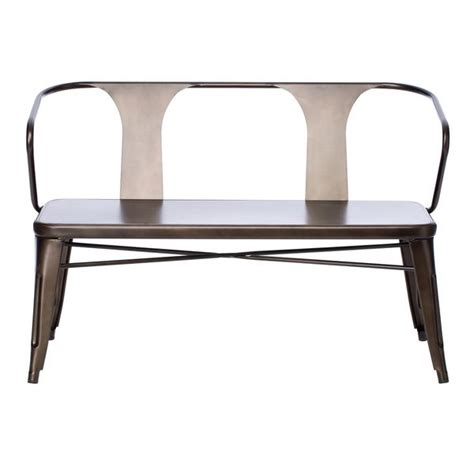 metal bench with back 51 best images about interior design on pinterest color