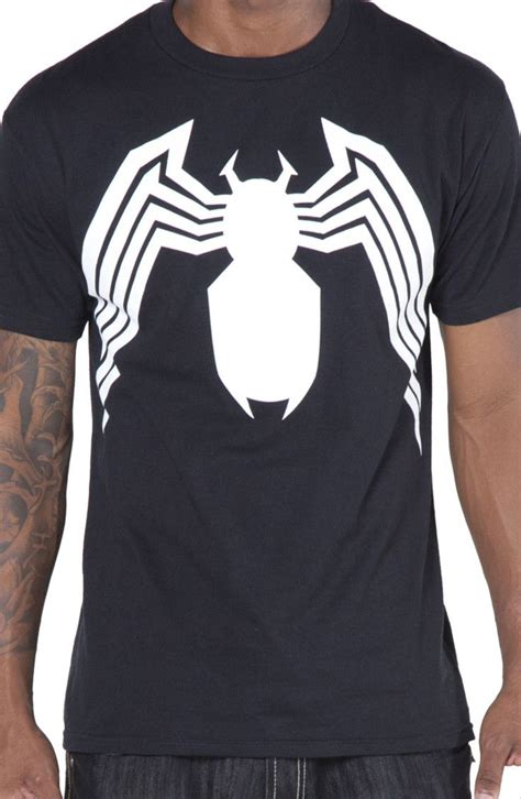 Venom Logo 1 T Shirt marvel comics venom t shirt logos arches and the o jays