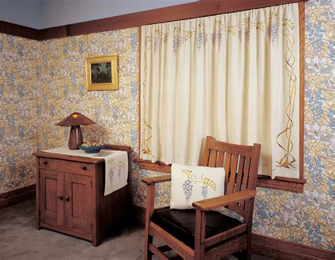 arts and crafts style l shades arts and crafts window treatments