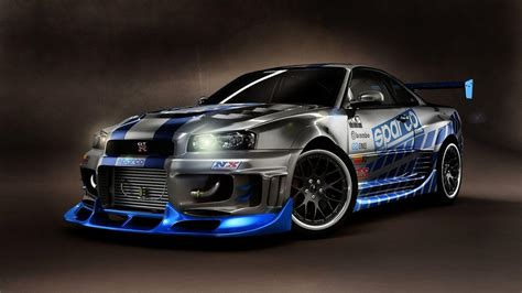 nissan gtr skyline wallpaper nissan skyline r34 wallpapers wallpaper cave