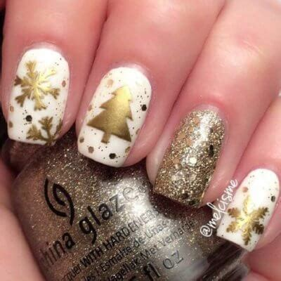 30 festive christmas nail ideas