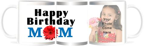 Refeel Gifts Happy Birthday Mom   Personalized Gift Ceramic Mug Price in India   Buy Refeel