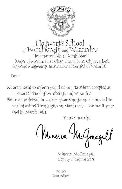 hogwarts letter eberlins hogwarts letter hogwarts