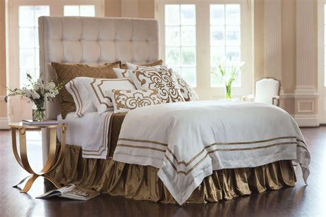 straw bedding lili alessandra soho white linen with straw velvet