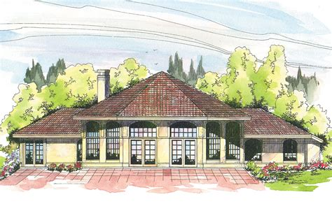Open Floor House Plans southwest house plans oakland 10 037 associated designs