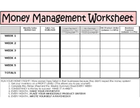 printable money management games for adults free printable money management worksheets car interior