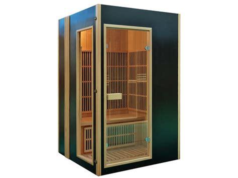 cabine de sauna cabine de sauna infrarouge quot malm 246 quot 2 places 120 x 120 x 190 cm 60879