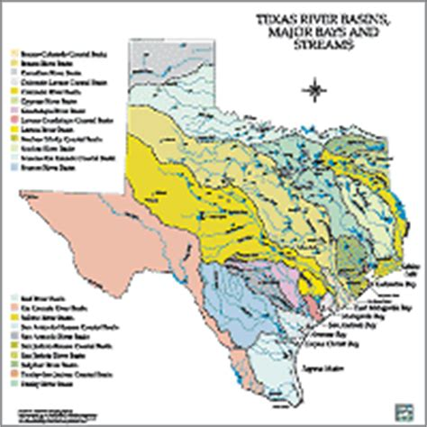 texas rivers and streams map tpwd maps