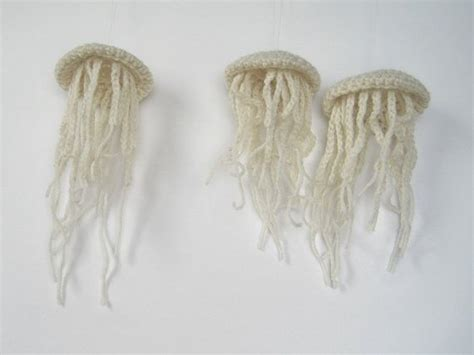 knitted jellyfish knitted jellyfish with toys d