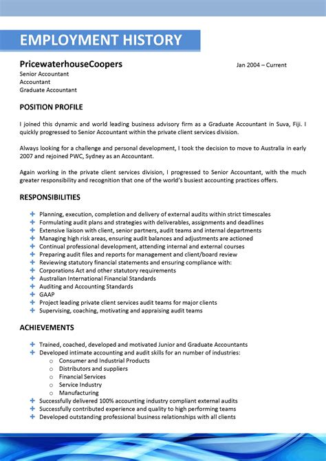 Resume Template by We Can Help With Professional Resume Writing Resume