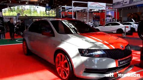 uing skoda cars skoda rapid sport tuning concept car tuning world