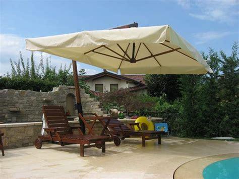 ombrelloni da giardino in legno ombrelloni in legno pave snc