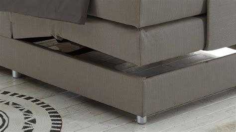 komfortbett 120x200 boxspringbett concort stoff silber komfortbett mit motor
