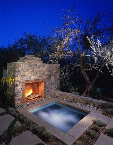 Spa Patio Designs by Best 25 Outdoor Spa Ideas On Outdoor