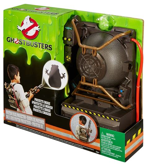 ghostbusters blaster electronic proton pack and blaster projector