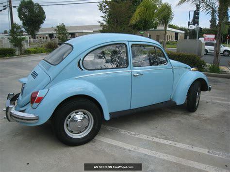 blue volkswagen beetle vintage 1971 volkswagen beetle classic blue current reg clear