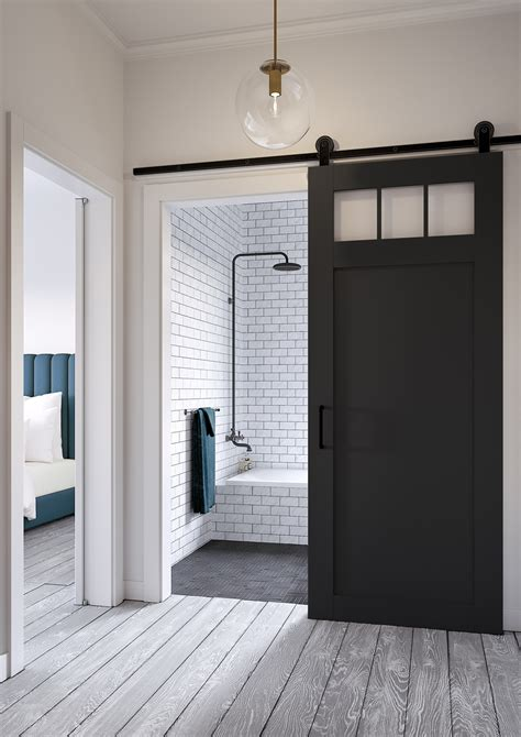 bathroom door styles jeff lewis design craftsman style barn door pinteres apinfectologia