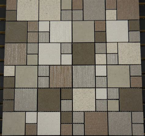 pattern block tiles ptm6036 porcelain mosaic earth versailles 1 2 block
