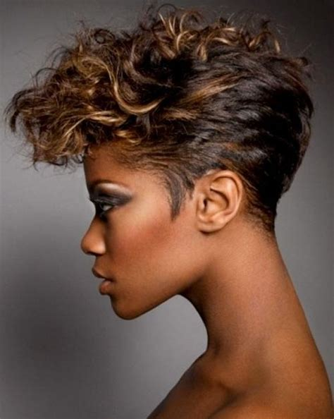15 collection of short hairstyles for black women with fat 20 collection of edgy short haircuts for black women