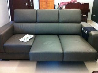 Sofa Zolano my rm6k leather sofa is it normal