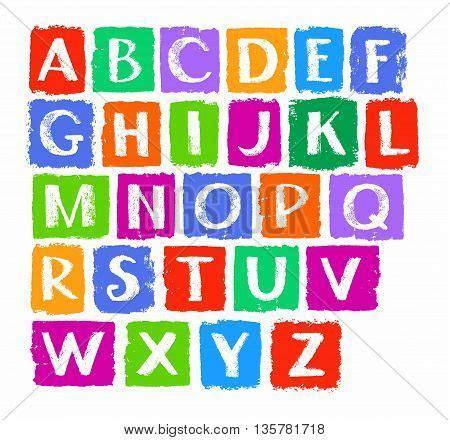 lettere alfabetiche alphabet capital letters vector photo bigstock