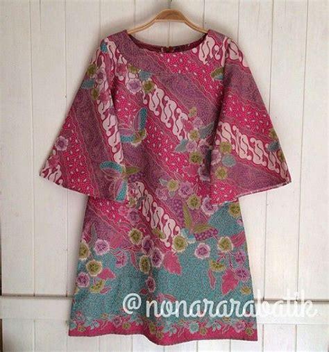 Baju Pink Tunic Dress Wanita best 25 batik ideas on batik dress
