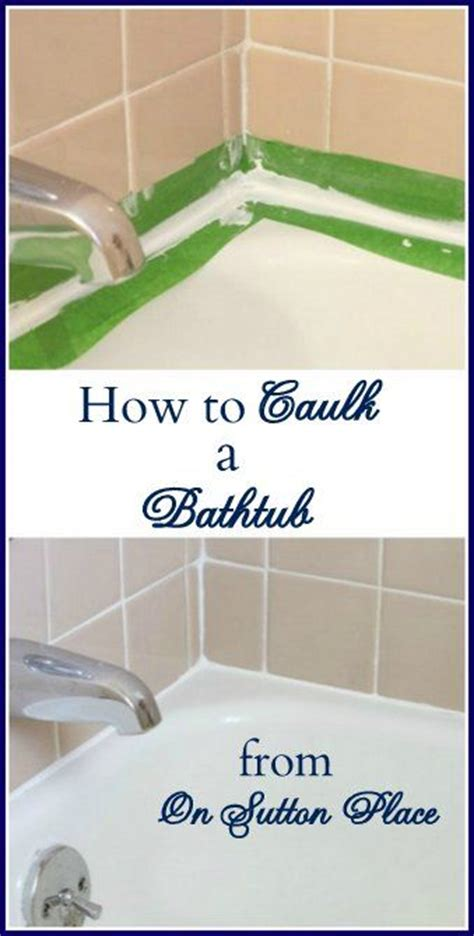 bathroom caulking service bathtubs grout and super easy on pinterest