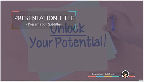 Unlock Your Potential Powerpoint 55702 Free Unlock Your Unlock Powerpoint Template