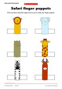 paper finger puppets templates best photos of printable finger puppet templates