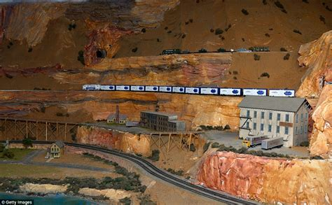 train layout new jersey inside the world s largest model railroad boasting more