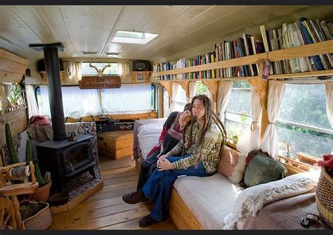 this family lives life in a van business insider 9 awesome vintage buses converted into beautiful mobile homes
