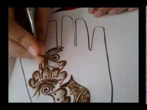 how to apply a henna tattoo arabic simple henna mehndi design how to apply