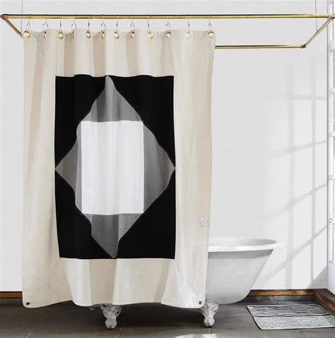 quiet curtains statement shower curtains from quiet town plus glamorous