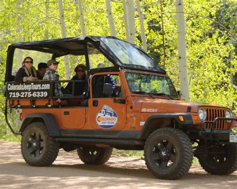 jeep tours four wheeling and whitewater colorado jeep tours