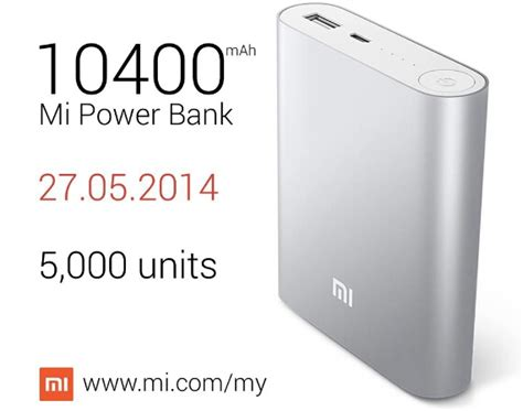 Power Bank Xiaomi Malaysia xiaomi mi power bank specification technave