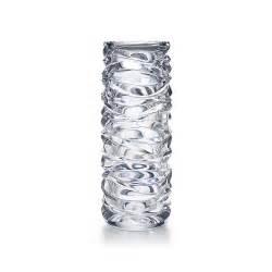 Tiffany Vase Crystal Wave Cut Cylinder Vase In Crystal Tiffany Amp Co