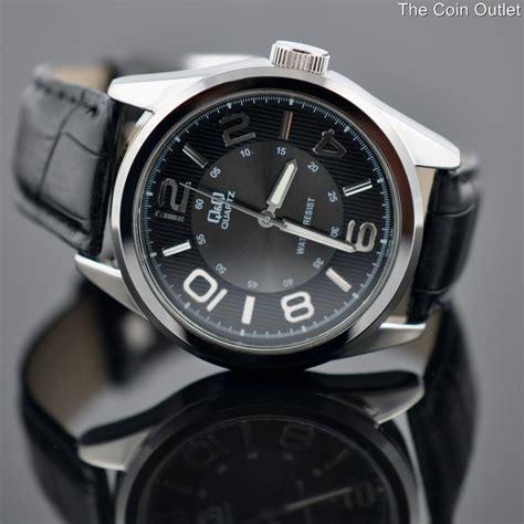 Q Q M051j003y q q by citizen s casual dress black