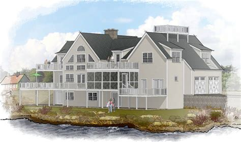baby nursery waterfront home plans waterfront house plans