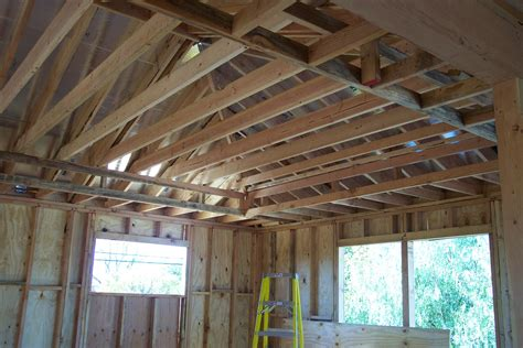 Roof And Ceiling by Roof Joists Illustration Of A Prefabricated Metal Plated