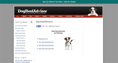 food advisor up 10 best doggie blogs for pet parents trudog 174