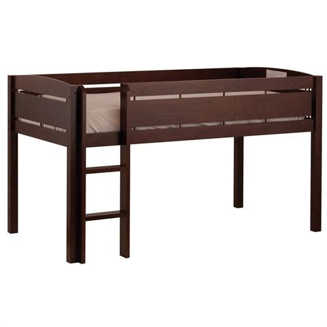canwood whistler junior loft bed canwood whistler junior loft bunk bed in espresso 2131 9
