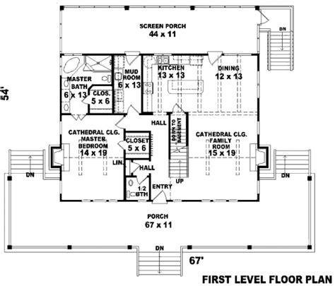 2200 square feet 2200 sq ft floor plans country style house plan 3 beds 2 5