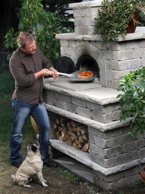 Build A Brick Oven Backyard by Best 25 Outdoor Pizza Ovens Ideas On