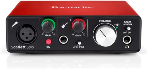 Focusrite Studio 2nd Soundcard Audio Interace focusrite sweetwater