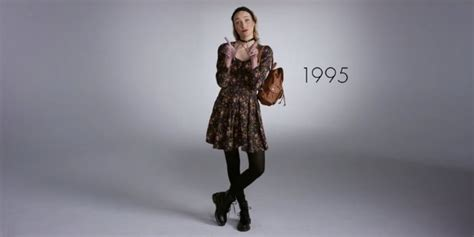 100 years of fashion 1856697983 100 years of fashion under 2 minutes celebrates american style from the good to the bad