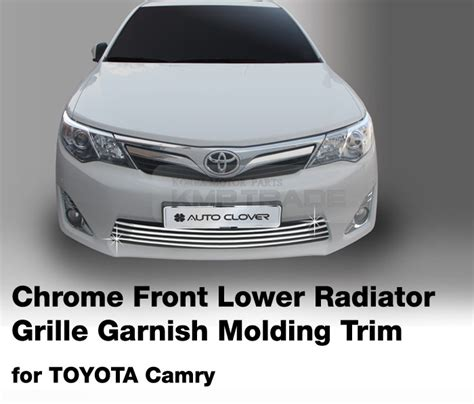 Toyota Calya Grill Radiator Front Grille Radiator Trim Chrome Chrome Front Lower Radiator Grille Garnish Molding For 2012 2015 Toyota Camry Ebay