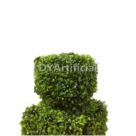 outdoor artificial topiary plants 120cm outdoor uv protection artificial square topiary tree