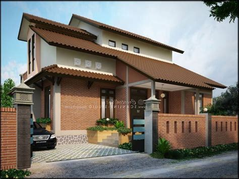 desain rumah kayu minimalis  lantai renovasi rumahnet