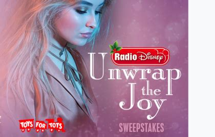 Radio Disney Sweepstakes - radio disney unwrap the joy sweepstakes sun sweeps